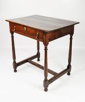 Early 18th Century Side Table (3 of 9)