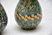1960's Pair of Vallauris Ceramic 'Mosaic' Vases by Jean Gerbino (5 of 10)