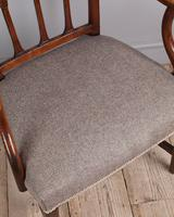 George III Elm Carver Chair (5 of 9)