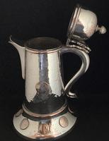 Large Silver Plated George IV Ale Jug (6 of 7)