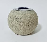 Antique Ceramic Match Strike Holder with Silver Rim (6 of 11)