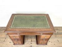 Small Antique Mahogany KneeHole Desk (2 of 9)