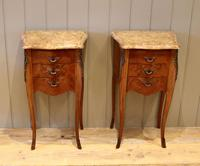 Tulipwood And Mahogany Bedside Cabinets (3 of 9)