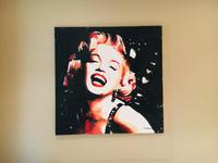 Original Oil Painting of Marilyn Monroe by Manchester Artist Marc Grimshaw c.1990 (2 of 9)