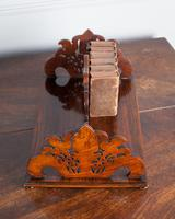 19th Century Rosewood Fretwork Bookstand (3 of 5)
