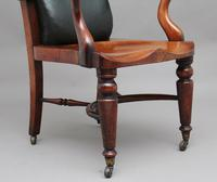 19th Century Heals of London library chair (7 of 10)