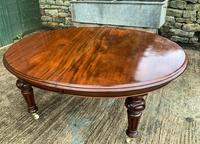 Super Quality Victorian Mahogany Extending Dining Table Seats 14 (17 of 18)