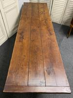 Long French Oak Farmhouse Dining Table (8 of 17)