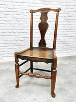 Set of 4 Early 19th Century Country Dining Chairs (5 of 8)
