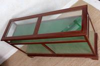 Shop Display Cabinet Glazed Mahogany 19th Century Glass (3 of 8)
