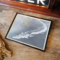 HMS TIGER Mahogany framed illuminated sign. Mid 20th Century militaria (9 of 12)