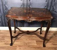 Quality Inlaid Walnut Occasional Table (9 of 18)