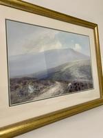 Original Dartmoor Watercolour by Frederick John Widgery (7 of 15)