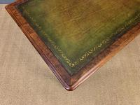 Very Good Victorian Burr Walnut Writing Table (9 of 16)