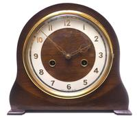 Very Good Arched Top Art Deco Mantel Clock – Smiths Striking 8-day Mantle Clock (3 of 10)