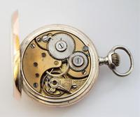 Antique silver Omega pocket watch. (2 of 5)