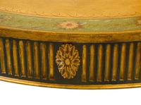 Painted George III Style Demi Lune Pier Table c1880 (4 of 8)