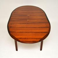 1960's Danish Rosewood Extending Dining Table (6 of 11)