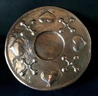 Large Art Nouveau Copper Charger (3 of 4)