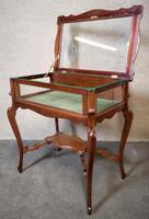 Edwardian Mahogany Bijouterie Table / Display Table (8 of 10)