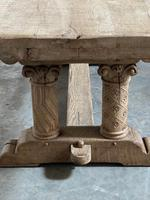Extremely Rare Large Oak Refectory Table (19 of 35)