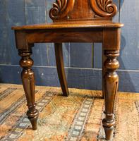 Pair of 19th Century Regency Style Hall Chairs (9 of 10)