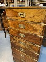Colonial Campaign Chest of Drawers (9 of 10)