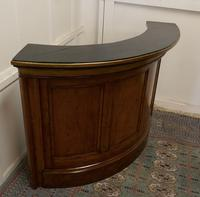 19th Century Oak Courtroom Dock, Restaurant Reception Greeting Station, Greeter (4 of 10)