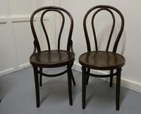Set of 4 Bistro Bentwood Chairs (5 of 5)