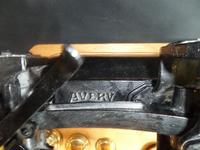 Avery Scales with Variety of Brass Weights on Especially Made Board (2 of 6)