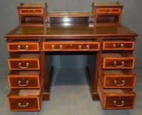 Mahogany Pedestal Desk (4 of 5)