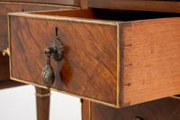 Quality Queen Anne Style Walnut Dressing Table & Mirror c.1920 (12 of 14)