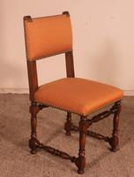 Set of 12 Louis XIII Style Walnut Chairs (7 of 11)
