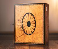 Beautiful Georgian Figured Walnut Jewellery Box 1800 (4 of 13)