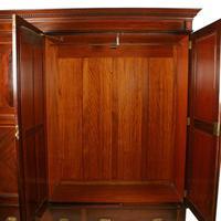 Edwardian Three Door Wardrobe (6 of 8)