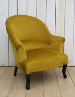 Pair of Antique Napoleon III Armchairs for re-upholstery (6 of 9)