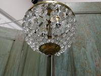 Beautiful French Empire Style Basket Chandelier (3 of 6)