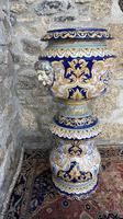 Montagnon French Majolica Jardiniere on Stand (12 of 16)