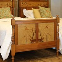Art Nouveau Matching Pair of Twin Single French Beds (3 of 10)