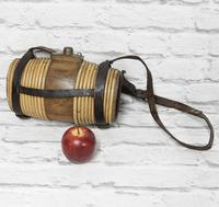 19th Century Liquor Barrel with Carrying Strap