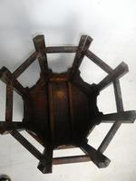 Indian Octagonal Folding Chess Top Table (4 of 8)