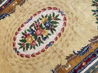 Vintage Chinese Silk Carpet 2.43m x 1.59m (6 of 11)