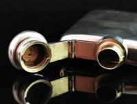 Vintage Sterling Silver Hip Flask (11 of 13)