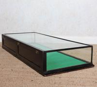 Counter Top Shop Display Cabinet Glazed Ebonised 19th Century Glass (5 of 14)