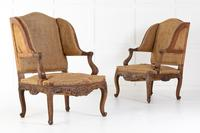 Pair of 19th Century French Oak Armchairs (5 of 9)