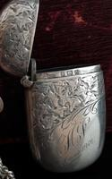 Antique Victorian silver vesta case (2 of 14)