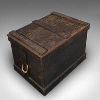 Antique Master Craftsman's Chest, English, Pine, Mahogany, Tool Trunk, Victorian (7 of 12)