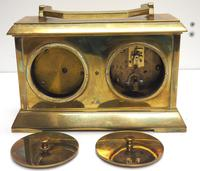 Fine Antique French 8-day Combination Thermometer, Clock & Barometer Carriage Clock Timepiece by Frodsham c.1890 (8 of 10)