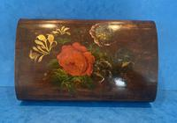 Victorian Belgium Painted Box in Holly (3 of 13)