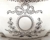 Antique Edwardian Sterling Silver Caddy 1901 (4 of 10)